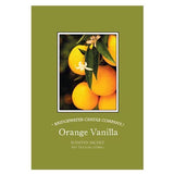 Bridgewater Large Scented Envelope Sachet Pack of 6 - Orange Vanilla