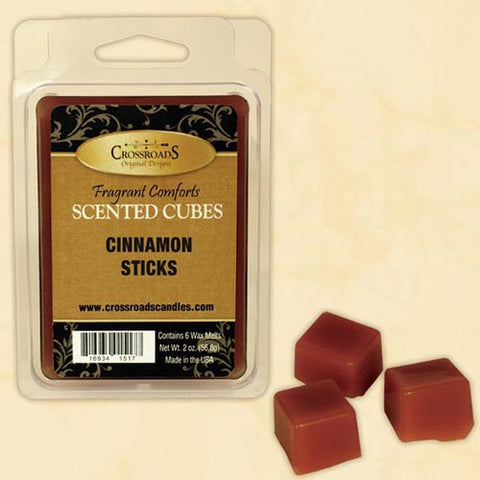 Crossroads Scented Cubes 2 Oz. - Cinnamon Sticks