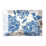 Michel Design Works Glass Soap Dish - Indigo Cotton