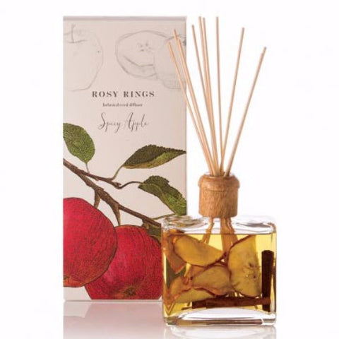 Rosy Rings Botanical Reed Diffuser 13 Oz. - Spicy Apple