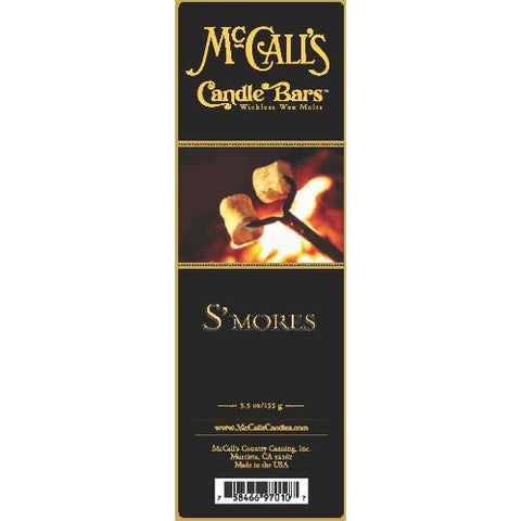 McCall's Candles Candle Bar 5.5 oz. - S'mores