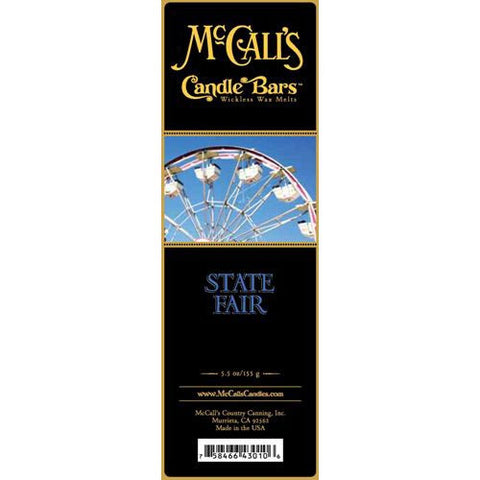 McCall's Candles Candle Bar 5.5 oz. - State Fair