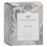 Greenleaf Gifts Candle Cube Boxed Votive Pack of 4 - Haven