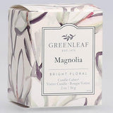 Greenleaf Gifts Candle Cube Boxed Votive Pack of 4 - Magnolia