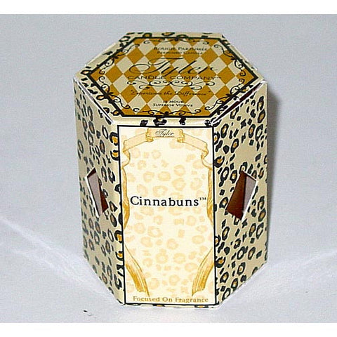 Tyler Candle 15-Hour Boxed Votive Set of 4 - Cinnabuns