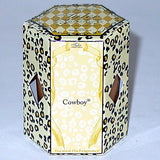 Tyler Candle 15-Hour Boxed Votive Set of 4 - Cowboy