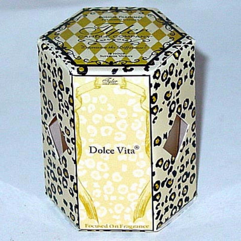 Tyler Candle 15-Hour Boxed Votive Set of 4 - Dolce Vita