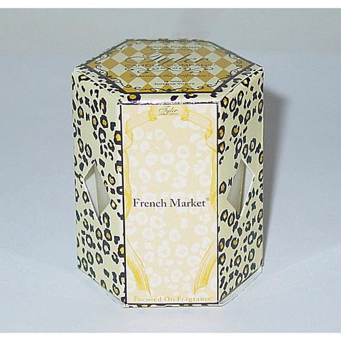 Tyler Candle 15-Hour Boxed Votive Set of 4 - French Market