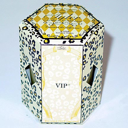 Tyler Candle 15-Hour Boxed Votive Set of 4 - VIP