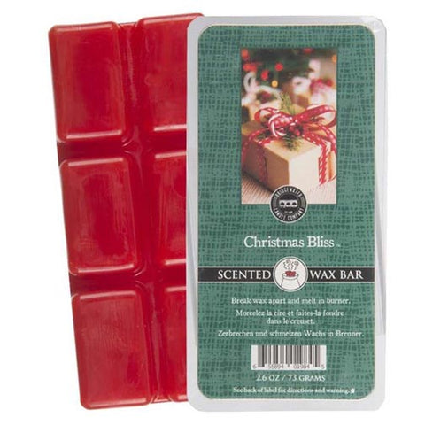 Bridgewater Candle Scented Wax Bar 2.6 Oz. - Christmas Bliss
