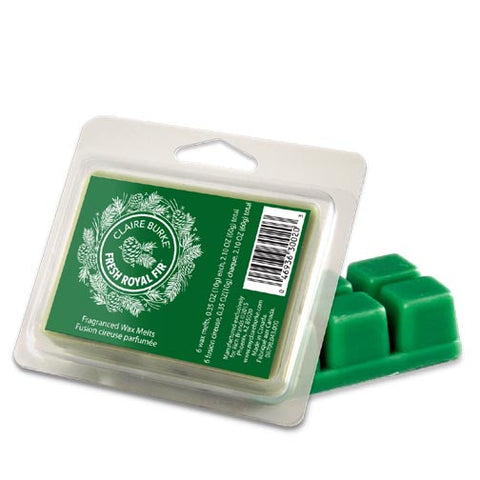 Claire Burke Wax Melts 2.1 Oz. - Fresh Royal Fir