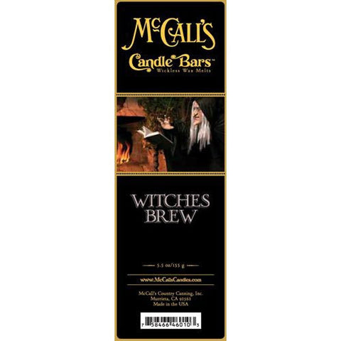 McCall's Candles Candle Bar 5.5 oz. - Witches Brew