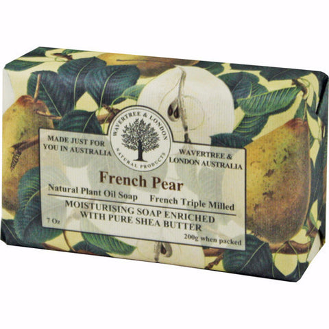 Australian Soapworks Wavertree & London 200g Soap - French Pear