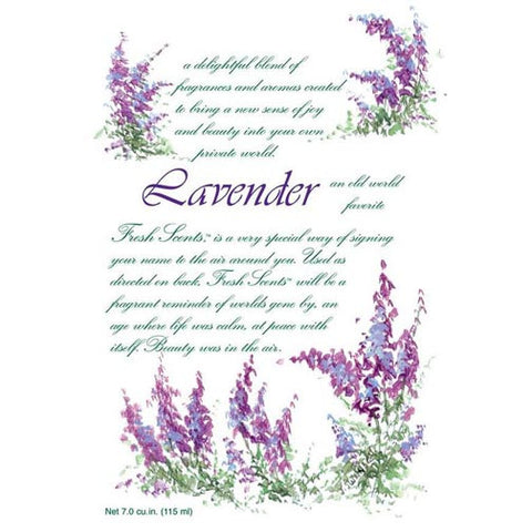 Fresh Scents Scented Sachet Set of 6 - Lavender