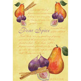 Fresh Scents Scented Sachet Set of 6 - Pear Spice