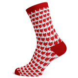 Sock Atomica Unisex Cotton Blend Socks - Hearts on Parade
