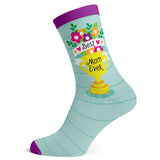 Sock Atomica Unisex Cotton Blend Socks - Best Mom Ever