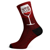 Sock Atomica Unisex Cotton Blend Socks - Wine Club