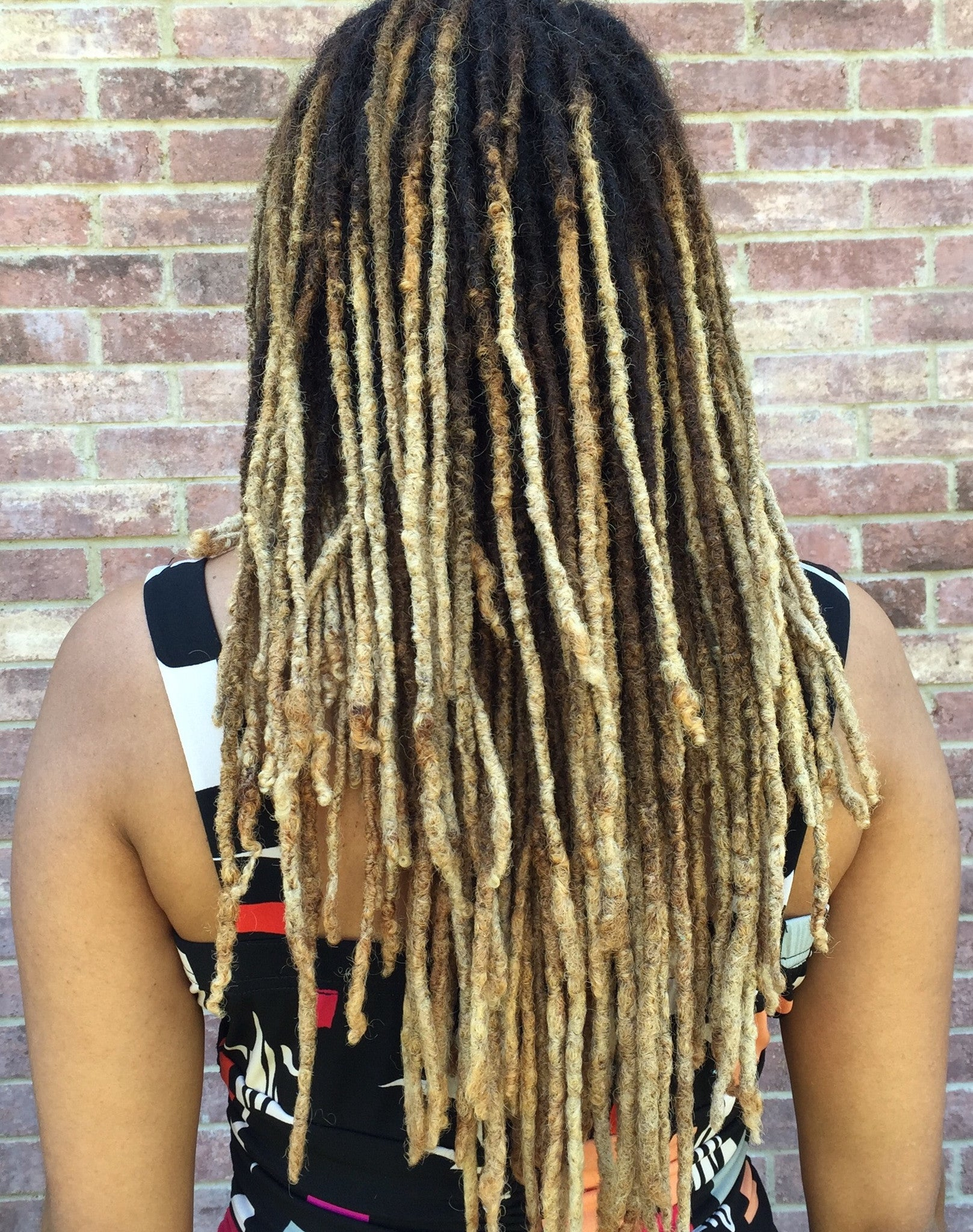 MY TRANSITION TO BLONDE LOCS - PART 2