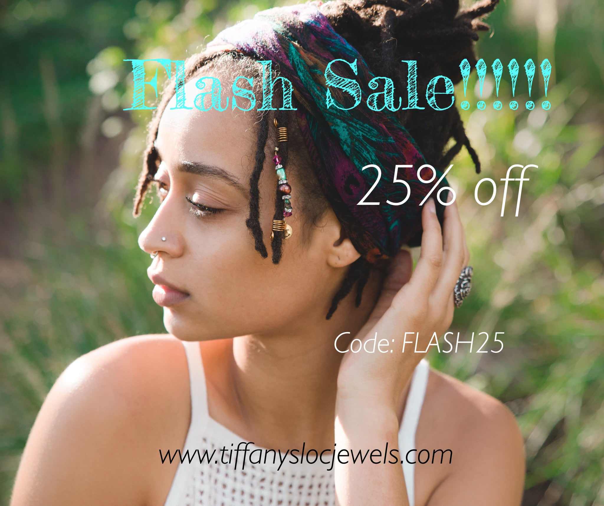 Flash Sale! 25% off