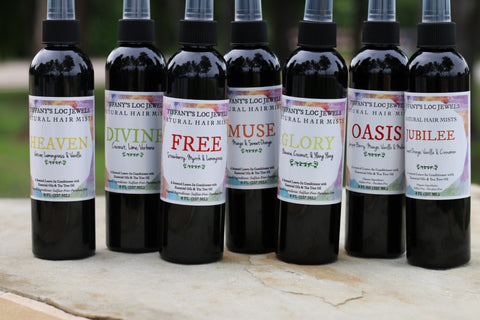 SAMPLER PACK NATURAL HAIR MIST (SET OF 6)