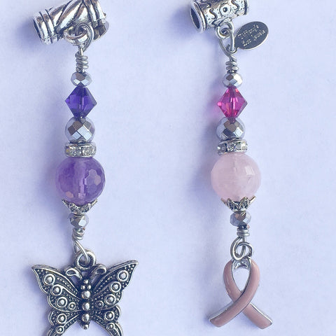 LUPUS AWARENESS Loc Jewelry - Amethyst