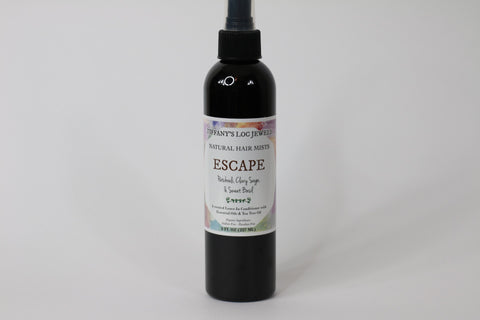 ESCAPE PATCHOULI & CLARY SAGE NATURAL HAIR MIST
