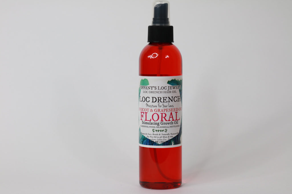 LOC DRENCH FLORAL SCENTED HAIR OIL - TIFFANY'S LOC JEWELS