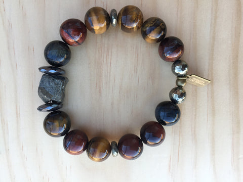 HENLEY TIGER'S EYE BRACELET