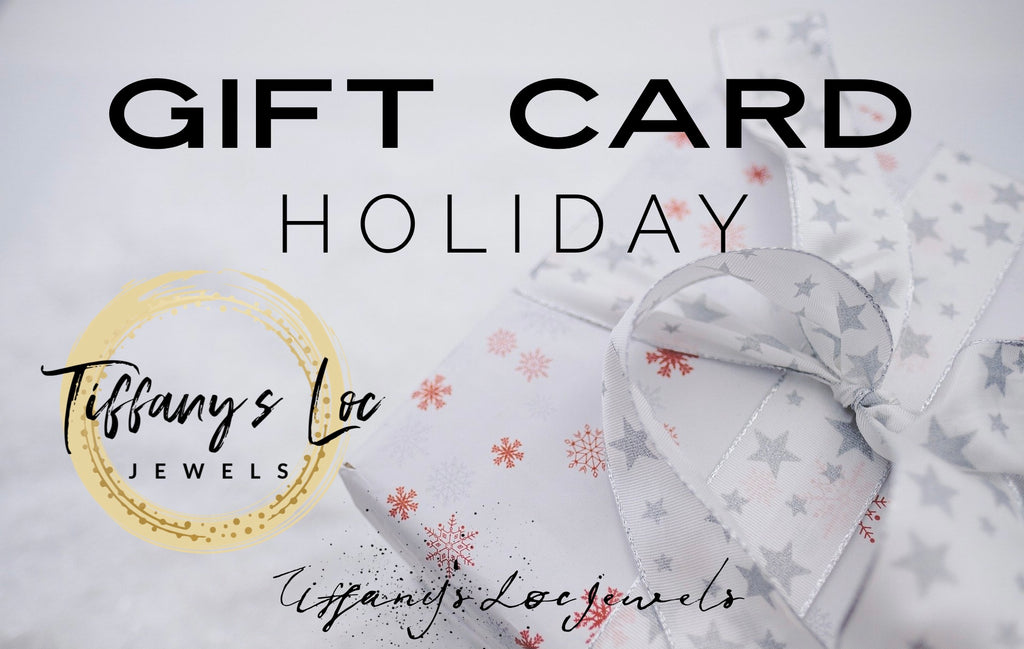 TIFFANY'S LOC JEWELS HOLIDAY GIFT CARD