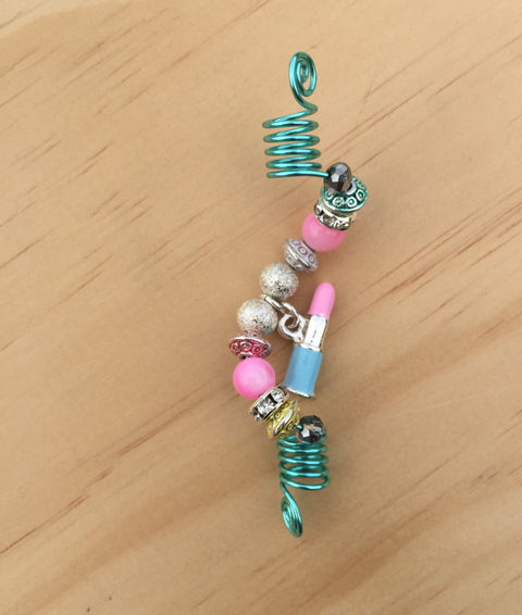 PINK LIPSTICK RIVER SHELL LOC JEWEL