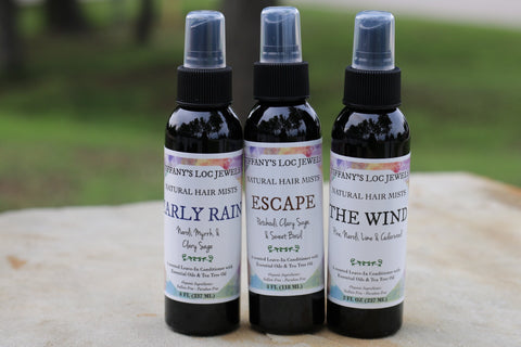 NATURAL HAIR MIST (SET OF 3) FOR MEN