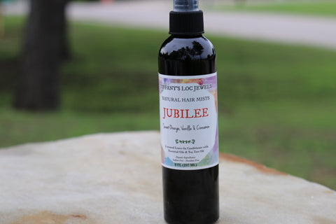 JUBILEE SWEET ORANGE & VANILLA NATURAL HAIR MIST - TIFFANY'S LOC JEWELS