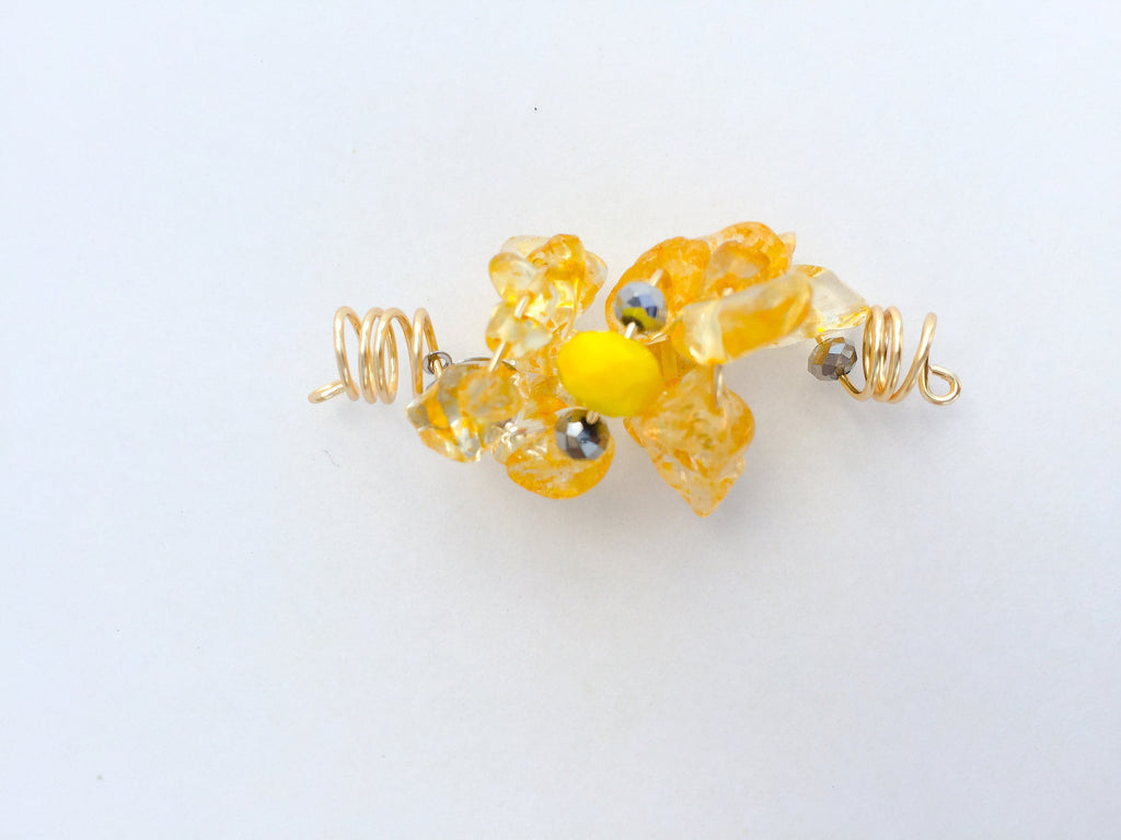 LANGSTON HUGHES CITRINE BITS LOC JEWELRY