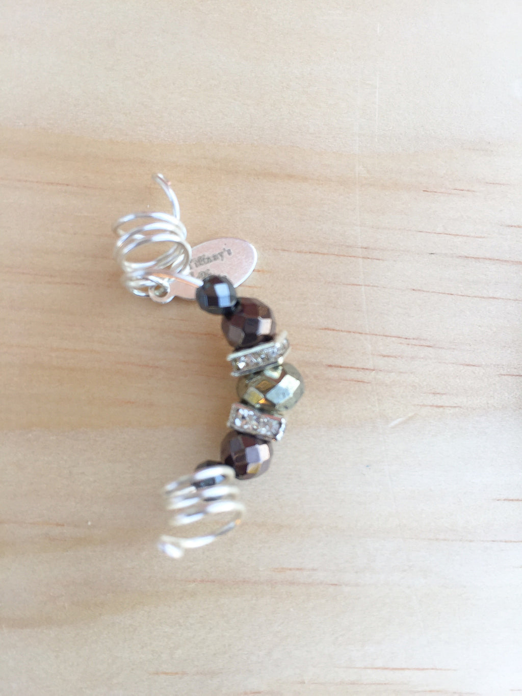 Prince Pyrite & Hematite Men's Dreadlock Jewelry