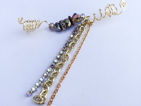 SUBLIME Multi Chain Gold Loc Jewel