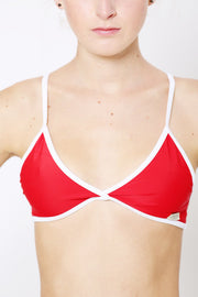Bay Red Fitted Top