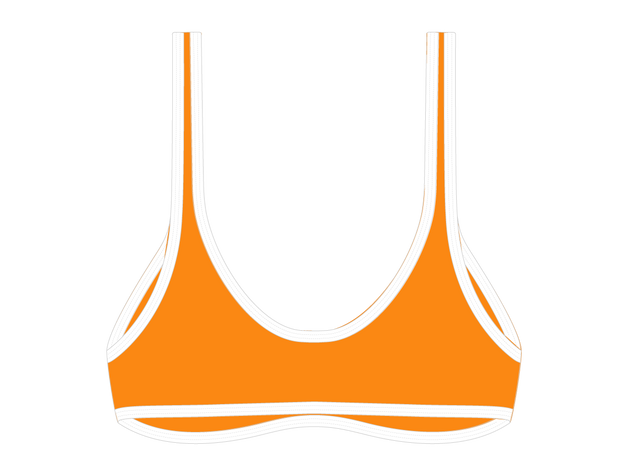 Cruise Orange Bae Top