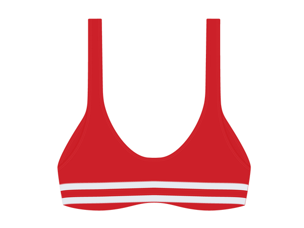 Bay Red Yogi top