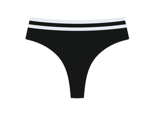 Pirate Black Diver bottom