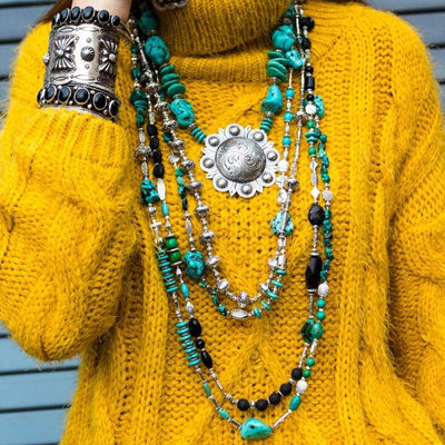 Forward Boutique Jewelry Amarillo By Morning: Turquoise Obsession Collecion