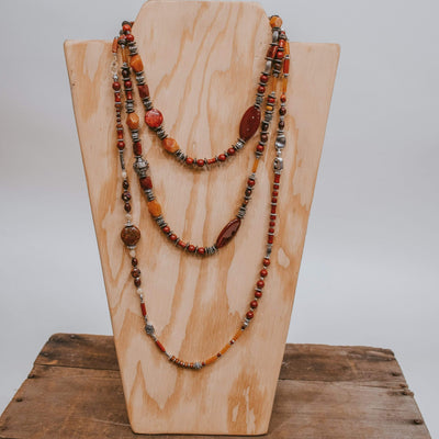 Forward Boutique Sunset Carnelian Collection Med Strand