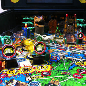 Backlit Signs for Jurassic Park Pinball
