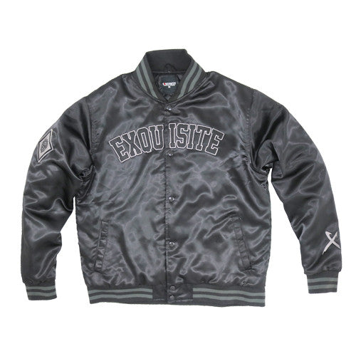 Exquisite Allstar Jacket in Black and Gray.
