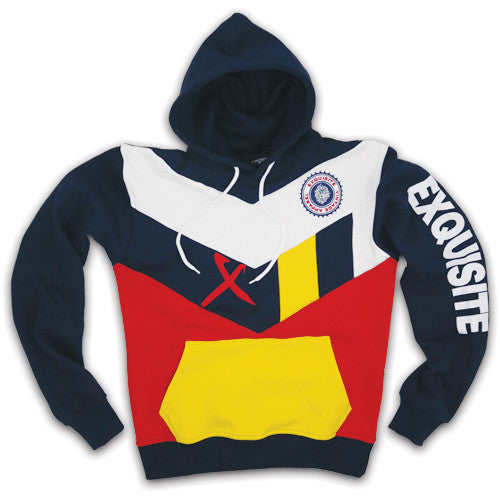 Exquisite Classic multi-colored hoodie