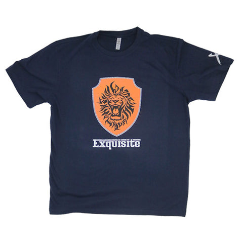 Exquisite Racing Short Sleeve Shirt (Navy)