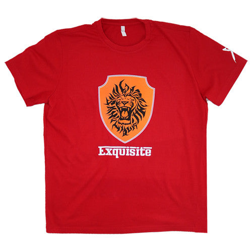 Exquisite Racing Short Sleeve Shirt (Red)