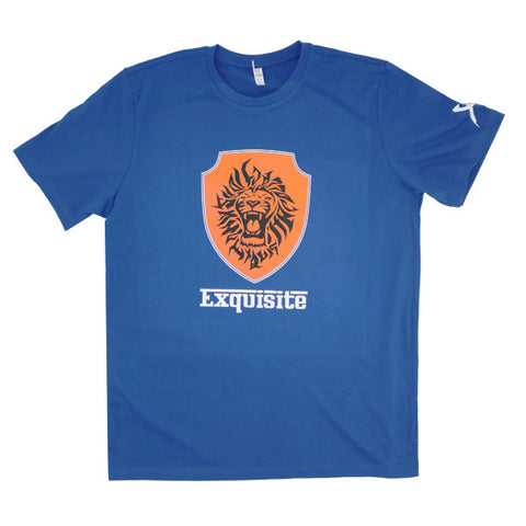 Exquisite Racing Short Sleeve Shirt (Royal Blue)