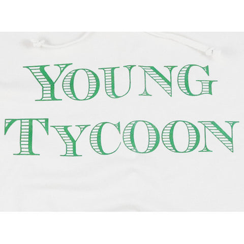 Young Tycoon Jersey Hoodie (Cream/Money Green)