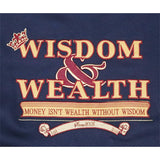 Wisdom and Wealth Sweat Shirt (Navy)